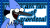 Mordecai stamp by LittleThingsCxD
