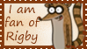 Rigby stamp by LittleThingsCxD