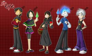 DV Gang Line Up by BechnoKid