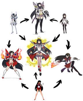 Fusion Meme: The Mega Magical Girl