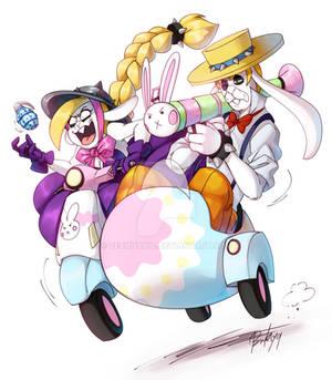 MARIO BROS: Happy (belated) Easter!