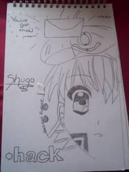 shugo from .Hack by Colorful-Kaiya