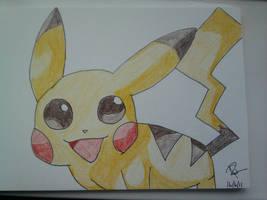 Pikachu :love him: by Colorful-Kaiya