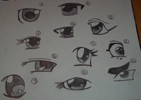 Anime Eyes by Colorful-Kaiya