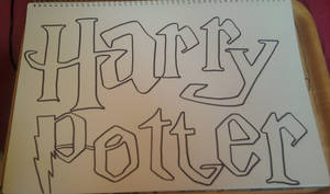 Harry potter title b4 colour by Colorful-Kaiya
