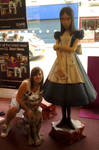 Me with alice and cheshire cat