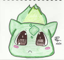 Kawaii Bulbasaur by Colorful-Kaiya