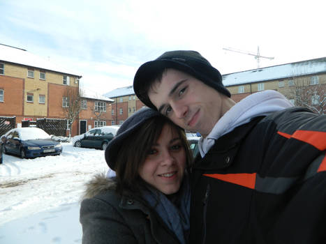 Me and Ian in snow