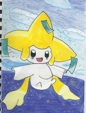 Jirachi w/background