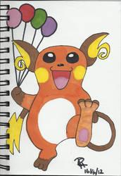 Raichu by Colorful-Kaiya