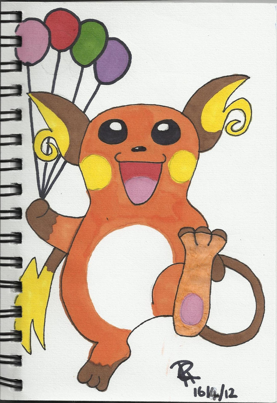 Raichu by Colorful-Kaiya