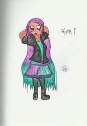 Falisha099 O.C request by Colorful-Kaiya