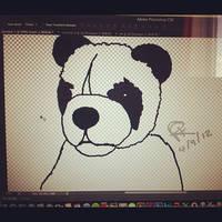 Digital Panda by Colorful-Kaiya
