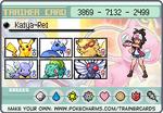 Pokemon Trainer Card