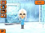 Elsa and her FROZEN room!