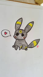 Chibi Umbreon by Colorful-Kaiya