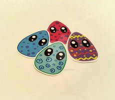 Easter Egg Stickers!!