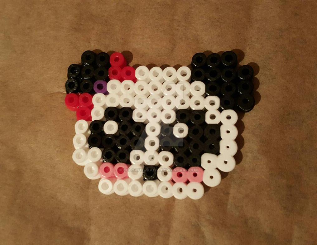 Girl Panda Pin by Colorful-Kaiya