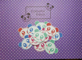 Panda stickers For sale!