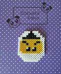 Zane Hama Coaster/Pin
