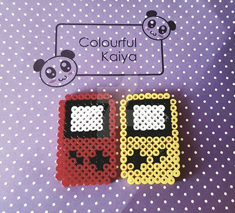 Gameboy Hama by Colorful-Kaiya