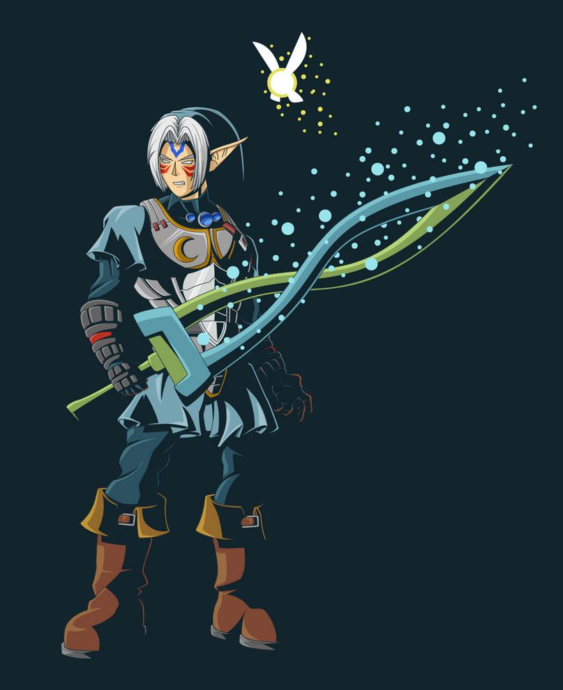 Fierce Deity Link by Onizzuka