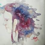 Salt in Watercolor