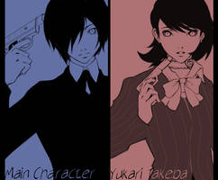 Persona 3 by tealgeezus