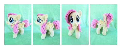 Fluttershy Plush by CalettesCreations