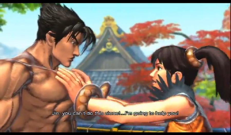 street fighter x tekken jin and xiaoyu ending relationship