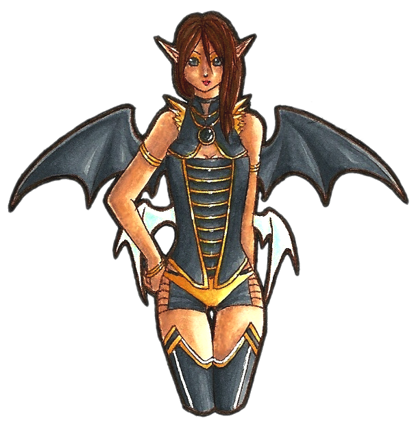 Golden Devil By LadyDragonKia On DeviantArt