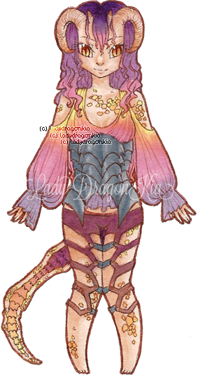 Dawn Nettling Adopt {CLOSED} by LadyDragonKia
