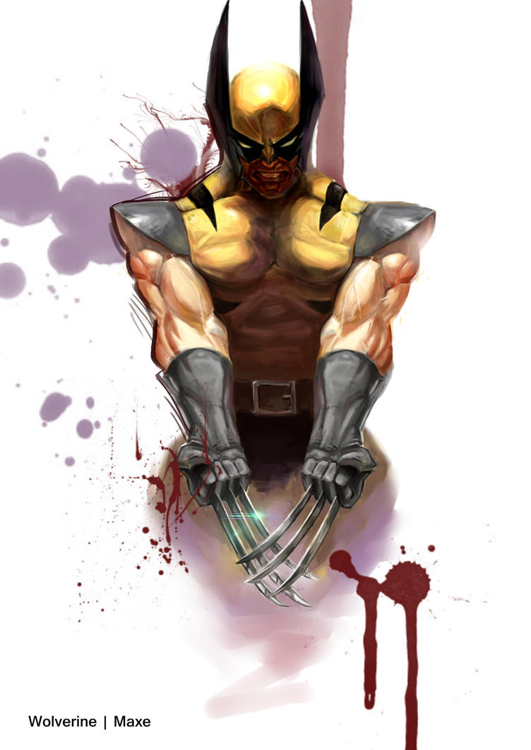 Wolverine by MaxeChong