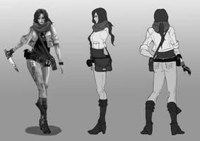 A Zombie Survivor by MaxeChong