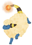 Mareep used Charge! by maryd39