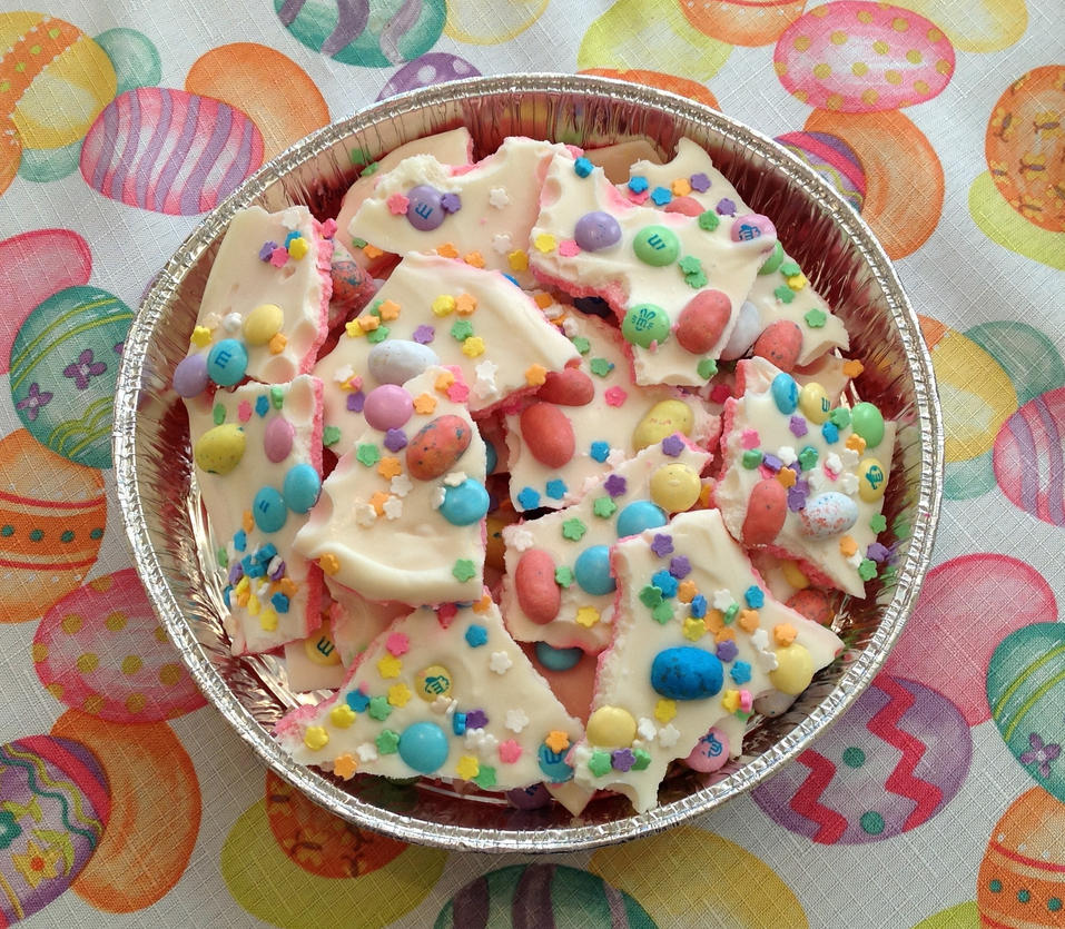 Easter Candy Bark by Sserenita