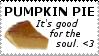 Pumpkin Pie Stamp by Genidoxian