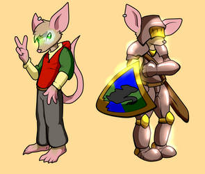 Knight Mouse Spencer