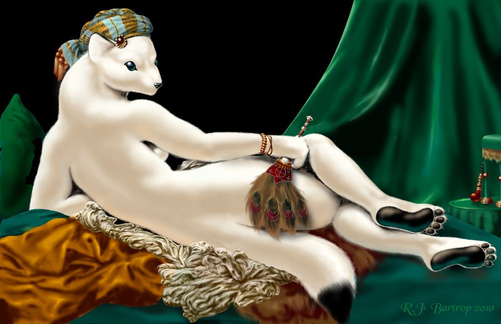 Ermine Odalisque by RJBartrop