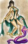 Slave Dancer Sara