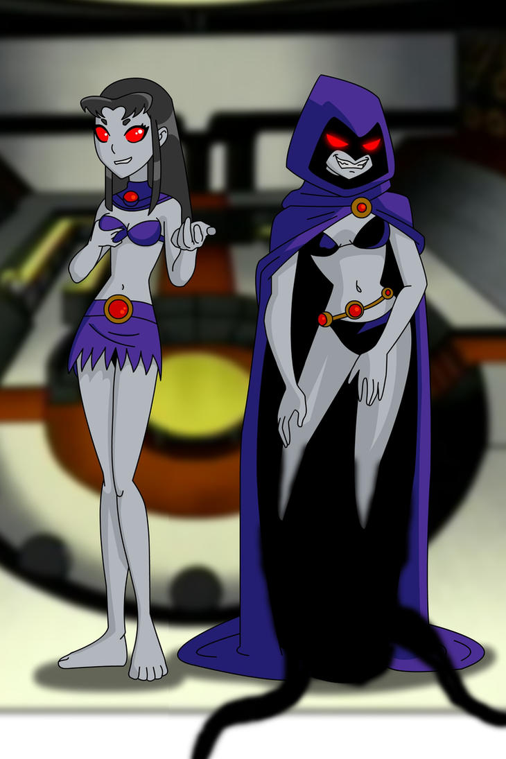 Raven And Starfire Possessed By Trigon By Andronicusvii On Deviantart-4532