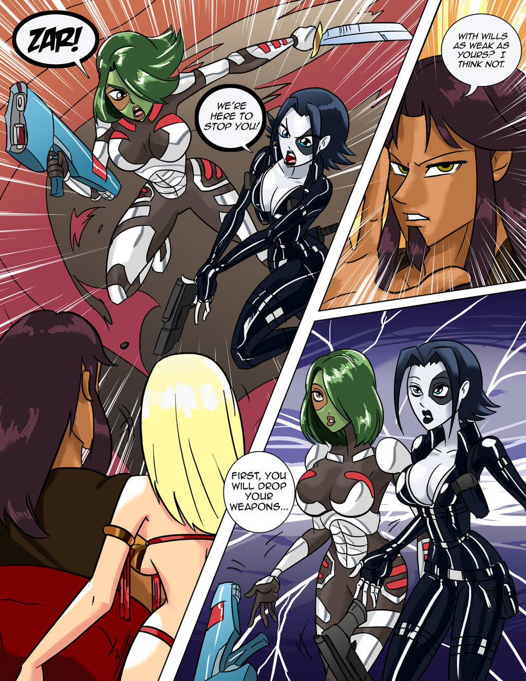 Kings harem nude girl