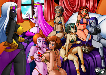 Western Animation Harem by AndronicusVII