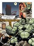 HULK 2099 vs TREX page 009 by AndronicusVII