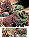 HULK 2099 vs TREX page 010 by AndronicusVII