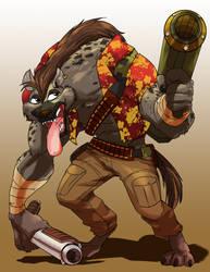 Gamma World- Hyena Don