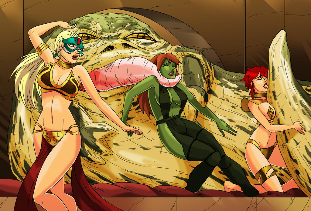 Jabba Vs Young Justice By AndronicusVII On DeviantArt