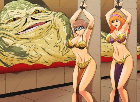 Jabba vs Velma and Daphne 02