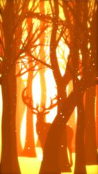 Deer in the forest by ketokeas