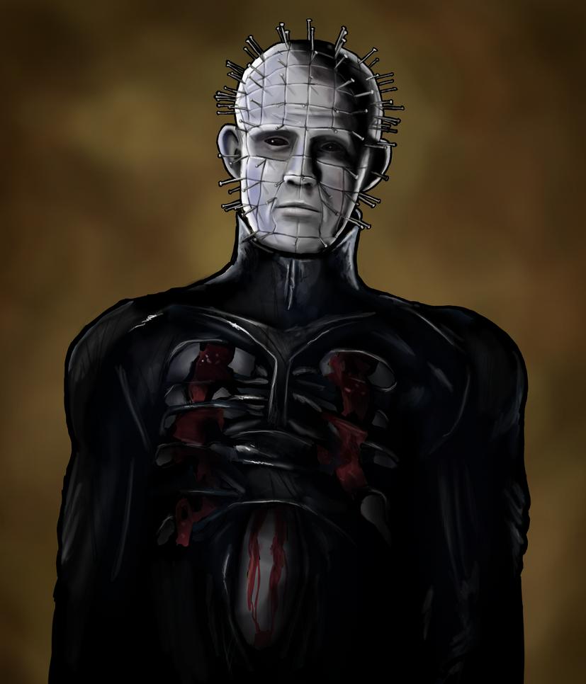 Pinhead - Hellraiser by AnatomicalBomb